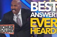 BEST Answers Steve Harvey Has Ever Heard On Family Feud