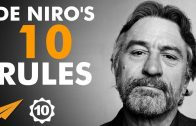 Robert De Niro's Top 10 Rules For Success