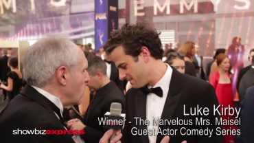 "Luke Kirby on His Emmy Win for ""The Marvelous Mrs. Maisel"""