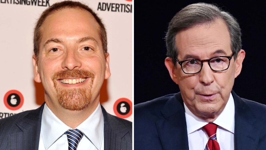 """Chuck Todd Says Chris Wallace Not to Blame for """"Trainwreck"""" Presidential Debate"""