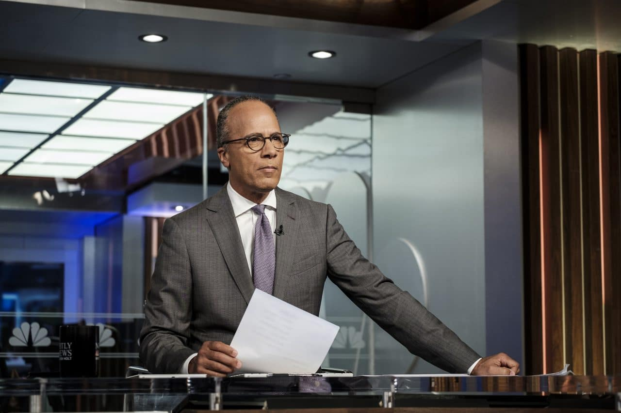 Lester Holt Gets Ready to Take 'Nightly News' Viewers 'Across America'