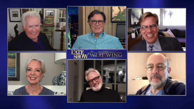 'The Late Show' Reunites 'The West Wing' For Another Rare Friday Show