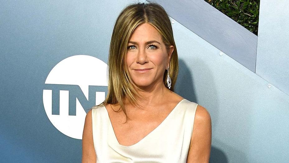 "Jennifer Aniston Endorses Joe Biden & Says Voting for Kanye West ""Not Funny"""