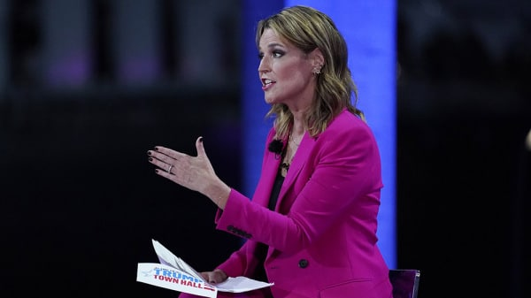 Savannah Guthrie Kept Command of NBC's Controversial Trump Town Hall