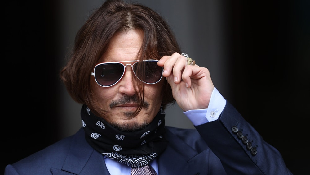 Johnny Depp Loses Battle to Challenge 'Wife Beater' Libel Ruling