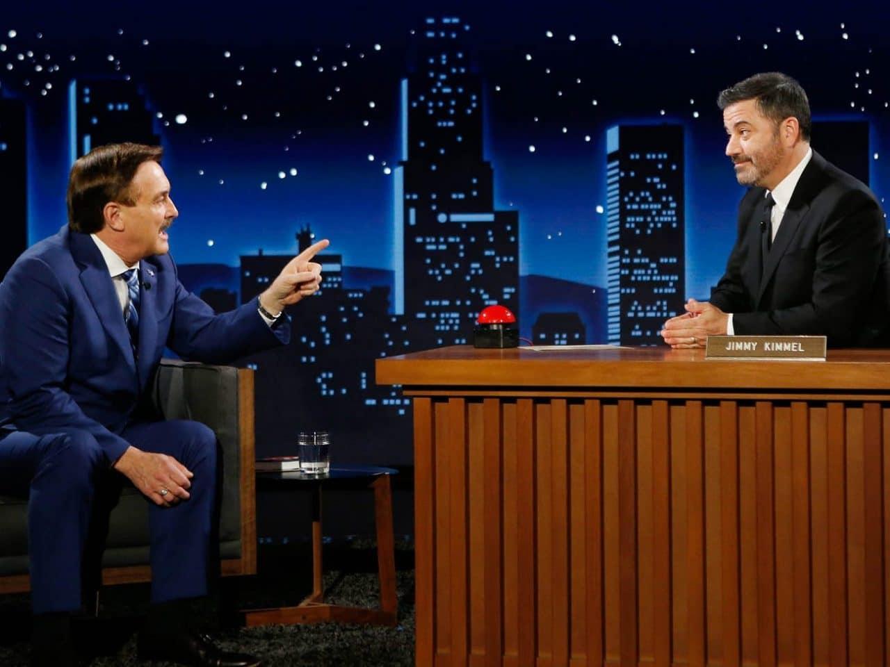 Jimmy Kimmel's Interview with the MyPillow CEO Got Pretty Weird