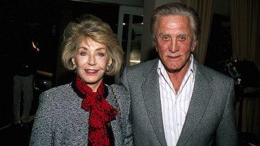 Kirk Douglas And Anne Douglas