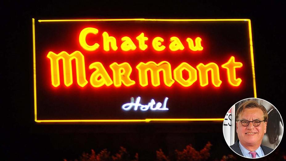 Aaron Sorkin's Lucy-Desi Movie Scraps Chateau Marmont Shoot Amid Boycott