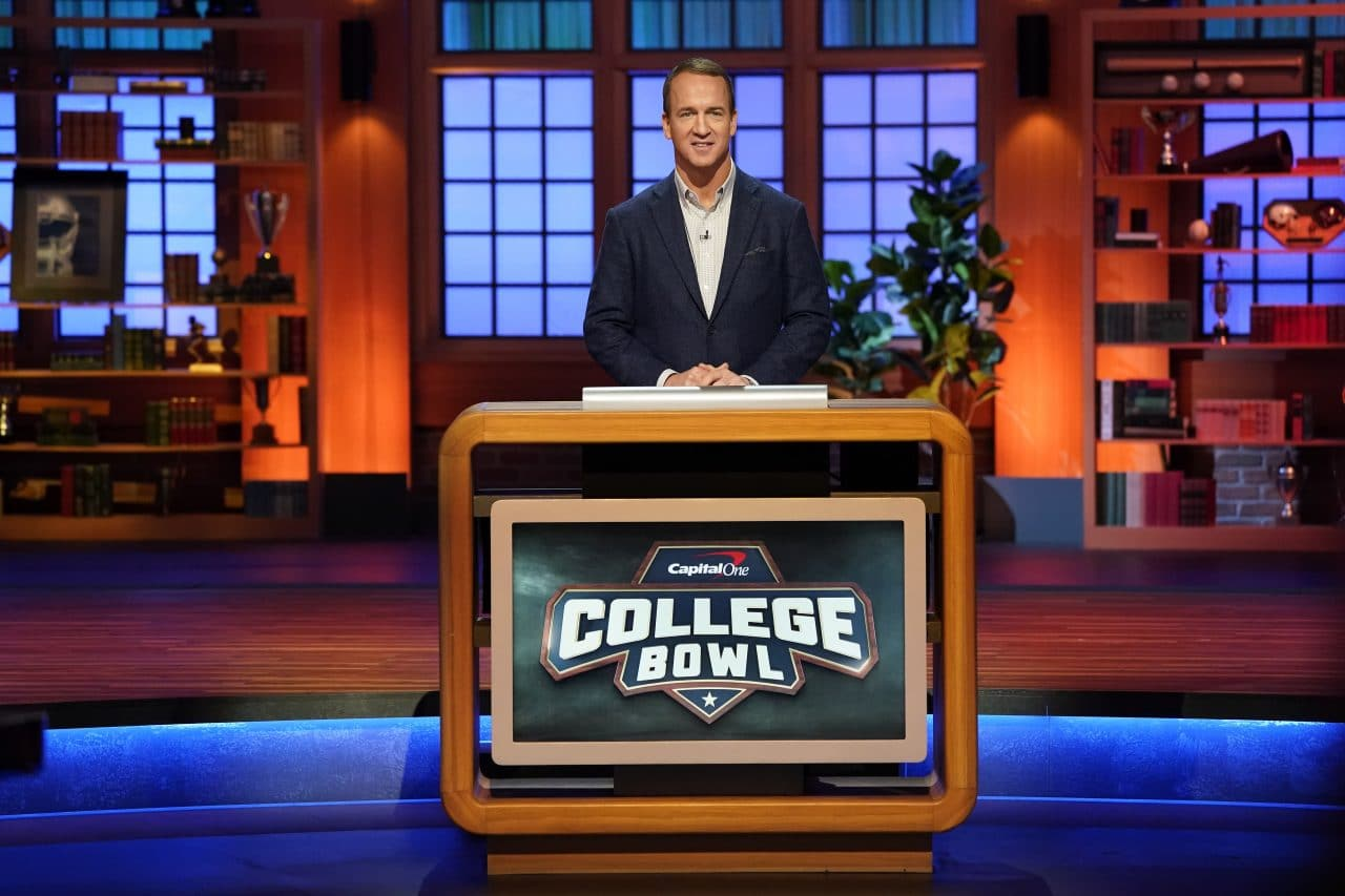 Peyton Manning To Host 'College Bowl' Reboot For NBC
