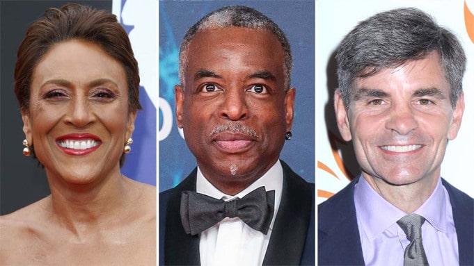 """Robin Roberts, LeVar Burton & George Stephanopoulos Among ""Jeopardy's"" Season 37's Final Guest Hosts"