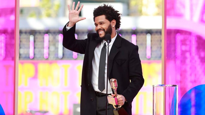 The Weeknd Named Top Artist at Billboard Music Awards