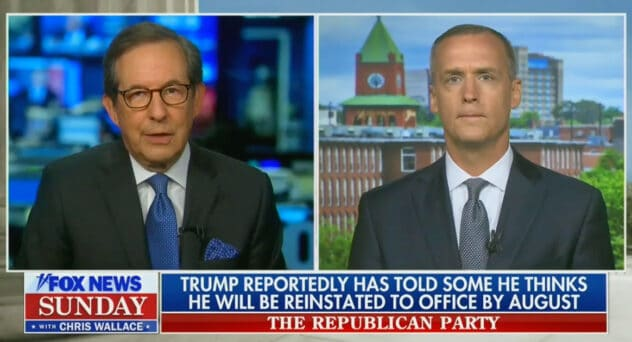 Chris Wallace Confronts Lewandowski on 2020 Election: 'Don't Blame This on the Media, You Had Your Day in Court and You Lost'