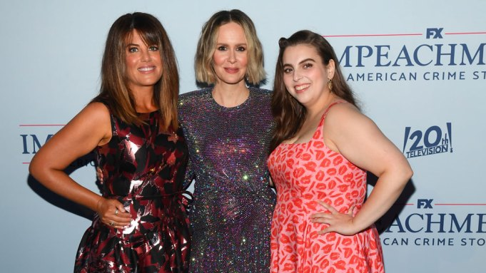 Monica Lewinsky, Sarah Paulson & Beanie Feldstein Toast 'Impeachment: American Crime Story'