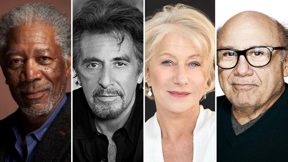 Morgan Freeman, Al Pacino, Helen Mirren & Danny DeVito Unite for Retirement Home Noir 'Sniff'