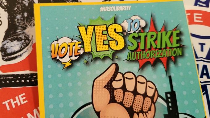 IATSE Members Overwhelmingly Approve Strike Authorization