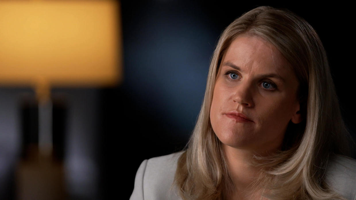Facebook Whistleblower Comes Forward in '60 Minutes' Interview